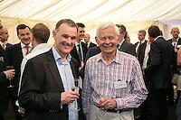 Chris Brown of Crowle Wharf Engineers and Hugh Dibley of New Brook Developments