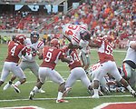 Ole Miss vs. Arkansas at Reynolds Razorback Stadium in Fayetteville, Ark. on Saturday, October 23, 2010. Arkansas won 38-24.
