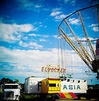 costa rica, central america, carnival, amusement park, rides, old, natives, outdoors