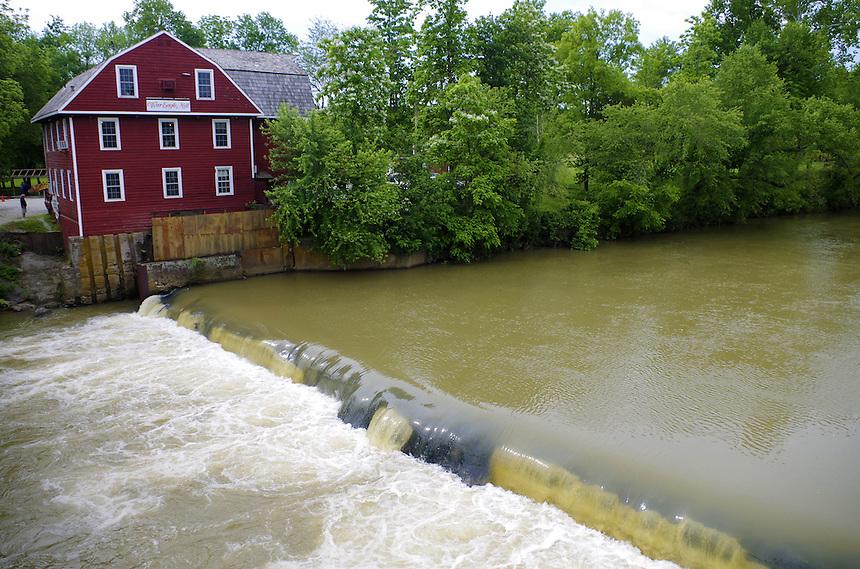 Historic War Eagle Mill on War Eagle Creek, Benton County, Arkansas