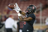 STANFORD, CA - October 8, 2016: Donald Stewart at Stanford Stadium. The Washington State Cougars defeated the Cardinal 42-16.