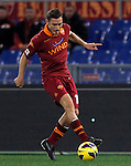 Calcio, Serie A: AS Roma vs Torino. Roma, stadio Olimpico, 19 novembre 2012..AS Roma forward Francesco Totti in action during the Italian Serie A football match between AS Roma and Torino at Rome's Olympic stadium, 19 November 2012..UPDATE IMAGES PRESS/Isabella Bonotto