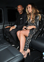 Thierry Henry and Andrea Rajacic at the Bradley Theodore: Second Coming VIP preview, Maddox Gallery Mayfair, Maddox Street, London, England, UK, on Wednesday 19 April 2017.<br /> CAP/CAN<br /> &copy;CAN/Capital Pictures