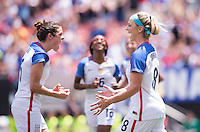 Cleveland, OH - June 5, 2016: The USWNT defeated Japan 2-0 during a weather shortened match at FirstEnergy Stadium.