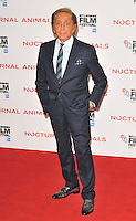 Valentino Garavani at the &quot;Nocturnal Animals&quot; 60th BFI London Film Festival Headline gala screening, Odeon Leicester Square cinema, Leicester Square, London, England, UK, on Friday 14 October 2016.<br /> CAP/CAN<br /> &copy;CAN/Capital Pictures /MediaPunch ***NORTH AND SOUTH AMERICAS ONLY***