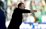 St Johnstone v Celtic..30.10.10  .Neil Lennon gives instructions.Picture by Graeme Hart..Copyright Perthshire Picture Agency.Tel: 01738 623350  Mobile: 07990 594431
