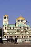 Sofia, Bulgaria. St Alexander Nevsky Cathedral.