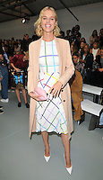 Eva Herzigova at the Mary Katrantzou LFW s/s 2017 catwalk show, BFC Show Space, Brewer Street Car Park, Brewer Street, London, England, UK, on Sunday 18 September 2016.<br /> CAP/CAN<br /> &copy;CAN/Capital Pictures /MediaPunch ***NORTH AND SOUTH AMERICAS ONLY***