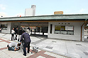 May 27, 2010 - Tokyo, Japan - A camera crew takes video of the Ryogoku Kokugikan, also known as Sumo Hall, in Tokyo, Japan, on May 27, 2010. The Japan Sumo Association decided punishments on Thursday against two sumo stable masters in connection with the distribution of front-row tickets to several high-ranking members of a gang affiliated with the Yamaguchi-gumi crime syndicate.