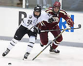 Brandon Tanev (PC - 22), Patrick Wey (BC - 6) - The Providence College Friars tied the visiting Boston College Eagles 3-3 on Friday, December 7, 2012, at Schneider Arena in Providence, Rhode Island.