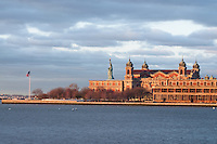 Ellis Island Immigration Museum, Statue of Liberty National Monument, New Jersey,  and New York City, New York