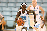 02 November 2016: North Carolina's Destinee Walker. The University of North Carolina Tar Heels hosted the Carson-Newman University Lady Eagles at Carmichael Arena in Chapel Hill, North Carolina in a 2016-17 NCAA Women's Basketball exhibition game. UNC won the game 96-70.