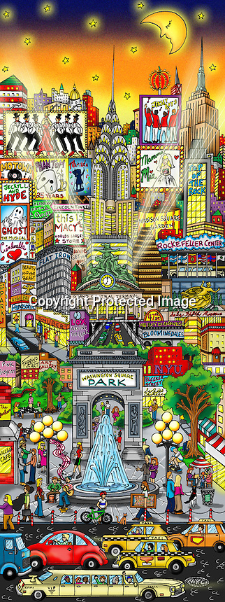 Misty Memories of Manhattan | Museum Editions - Charles ...