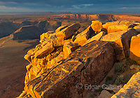Sunrise, Muley Point, Monument Valley, Glen Canyon National Recreation Area, Utah