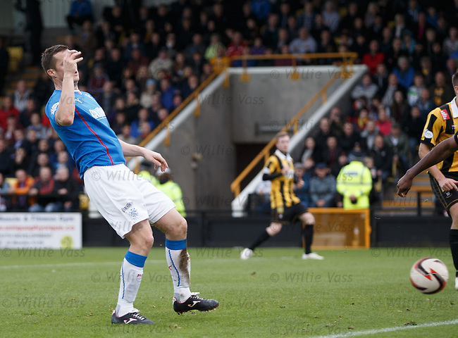 Jon Daly taps in goal no 4 and his hat-trick