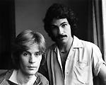 Hall & Oates 1975 Daryl Hall and John Oates.© Chris Walter.