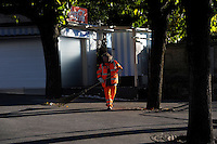 Lugano.Lavoratori.Worker.Pulizia stradale.