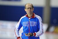 SPEED SKATING: CALGARY: Olympic Oval, 08-03-2015, ISU World Championships Allround, Kosta Poltavets (coach Russia), ©foto Martin de Jong