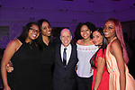 Figure Skating in Harlem celebrates 20 years - Champions in Life benefit Gala on May 2, 2017 presenting Scott Hamilton with The Power of Inspiration Award as he poses with seniors at 583 Park Avenue, New York City, New York. (Photo by Sue Coflin/Max Photos)