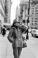 November 1979, Manhattan, New York City, New York State, USA --- French actress Alexandra Stewart in New York. --- Image by © JP Laffont