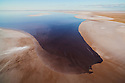 Australia, South Australia; flooded Lake Eyre in 2011