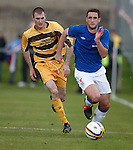 Lee Wallace flying up the wing