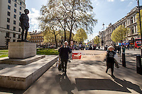 14.04.2014 - Global Day of Action on Military Spending in London