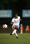UNC's Ariel Harris on Thursday, October 20th, 2005 at Fetzer Field in Chapel Hill, North Carolina. The University of North Carolina Tarheels defeated the North Carolina State University Wolfpack 1-0 during an NCAA Division I Women's Soccer game.