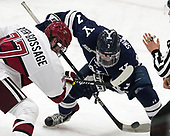 Lewis Zerter-Gossage (Harvard - 77), Joe Snively (Yale - 7) - The Harvard University Crimson tied the visiting Yale University Bulldogs 1-1 on Saturday, January 21, 2017, at the Bright-Landry Hockey Center in Boston, Massachusetts.