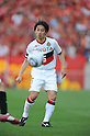 Shohei Abe (Grampus), APRIL 24th, 2011 - Football : 2011 J.League Division 1 match between Urawa Red Diamonds 3-0 Nagoya Grampus Eight at Saitama Stadium 2002 in Saitama, Japan. The J.League resumed on Saturday 23rd April after a six week enforced break following the March 11th Tohoku Earthquake and Tsunami. All games kicked off in the daytime in order to save electricity and title favourites Kashima Antlers are still unable to use their home stadium which was damaged by the quake. Velgata Sendai, from Miyagi, which was hard hit by the tsunami came from behind for an emotional 2-1 victory away to Kawasaki. (Photo by Hitoshi Mochizuki/AFLO).