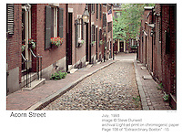 Acorn St., Beacon Hill, Boston, MA