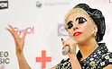 Lady Gaga, Jun 25, 2011 : Singer Lady Gaga poses for camera during a press conference at MTV Video Music Aid Japan in Chiba prefecture, Japan, on June 25, 2011.
