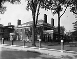 George Goss house on Church Street in 1930. It is now Notre Dame Academy.