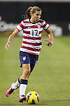 09 February 2012: Tobin Heath (USA). The United States Women's National Team played the Scotland Women's National Team at EverBank Field in Jacksonville, Florida in a women's international friendly soccer match. The U.S. won the game 4-1.