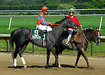 Awfully Smart with jockey Ramon Dominguez won the Leaonard Ritchie Stakes at Delaware Park on July 16, 2006