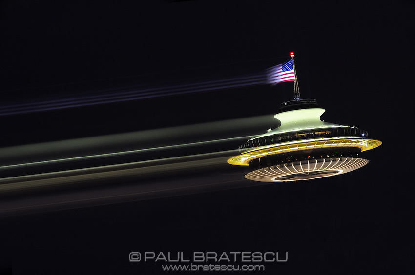Space Needle, Seattle, Washington, Pacific Science Center, wacky, spaceship, flying, saucer