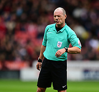 Referee Scott Duncan<br /> <br /> Photographer Chris Vaughan/CameraSport<br /> <br /> The EFL Sky Bet League One - Sheffield United v Charlton Athletic - Saturday 18th March 2017 - Bramall Lane - Sheffield<br /> <br /> World Copyright &copy; 2017 CameraSport. All rights reserved. 43 Linden Ave. Countesthorpe. Leicester. England. LE8 5PG - Tel: +44 (0) 116 277 4147 - admin@camerasport.com - www.camerasport.com