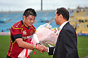 (L to R) Tomoaki Nakai (Brave Lupus),  Kenichi Wada Head coach (Brave Lupus), DECEMBER 3, 2011 - Rugby : Japan Rugby Top League 2011-2012, 5th Sec match between NTT Com ShiningArcs 6-45 Toshiba Brave Lupus at Chichibunomiya Rugby Stadium, Tokyo, Japan. (Photo by Jun Tsukida/AFLO SPORT) [0003]