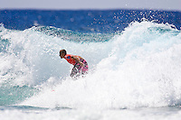 Kelly Slater (USA).  Mick Fanning (AUS) won the Quiksilver Pro Gold Coast 2005 defeating Chris Ward (USA) in the final held at Snapper Rocks, Coolangatta, Queensland, Australia. Photo: joliphotos.com
