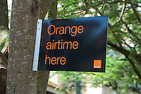 Orange airtime sold here