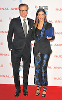 Colin Firth and Livia Firth at the &quot;Nocturnal Animals&quot; 60th BFI London Film Festival Headline gala screening, Odeon Leicester Square cinema, Leicester Square, London, England, UK, on Friday 14 October 2016.<br /> CAP/CAN<br /> &copy;CAN/Capital Pictures /MediaPunch ***NORTH AND SOUTH AMERICAS ONLY***