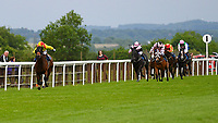 Winner of The Priority Mailing & Digital Print Claiming Stakes, Sans Souchi Bay ridden by Holly Doyle and trained by Richard Hannon  during Afternoon Racing at Salisbury Racecourse on 18th May 2017