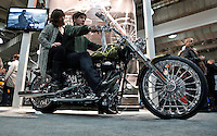 International motorcycle show in New York, United States. 18/12/2013. Photo by Kena Betancur/VIEWpress.