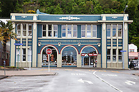 Napier, New Zealand.  Art Deco Trust Headquarters, formerly a Fire Station.
