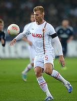 FUSSBALL   1. BUNDESLIGA  SAISON 2012/2013   9. Spieltag FC Augsburg - Hamburger SV           26.10.2012 Ragnar Klavan (FC Augsburg)