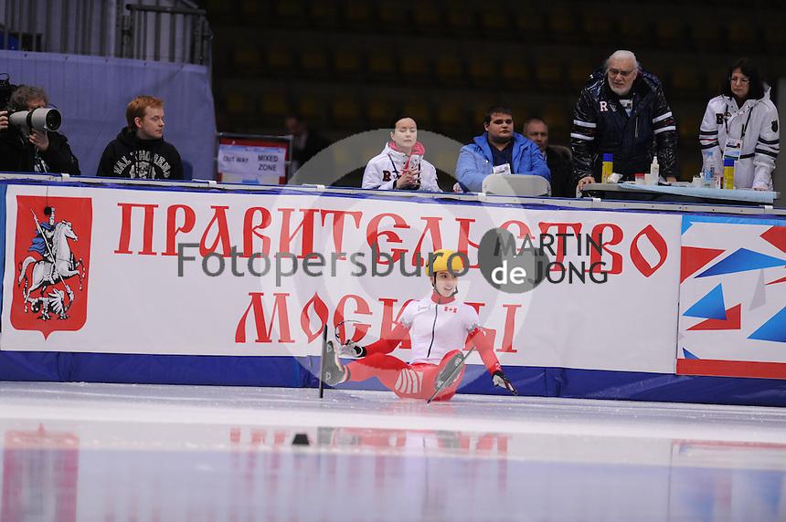 "SHORT TRACK: MOSCOW: Speed Skating Centre ""Krylatskoe"", 14-03-2015, ISU World Short Track Speed Skating Championships 2015, Ranking Races, Samuel GIRARD (#109 | CAN), ©photo Martin de Jong"