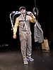 Marcel<br /> Theatre des Bouffes du Nord <br /> by and with Jos Houben and Marcello Magni <br /> at The Shaw Theatre, London, Great Britain <br /> Press photocall <br /> 9th January 2016 <br /> <br /> London International Mime Festival <br /> <br /> Merceelo Magni <br /> <br /> <br /> <br /> Photograph by Elliott Franks <br /> Image licensed to Elliott Franks Photography Services
