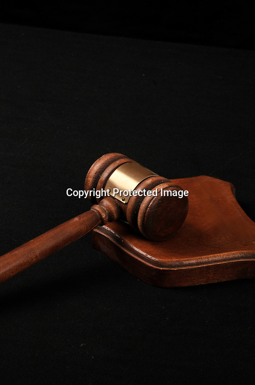 Stock photo of judicial gavel
