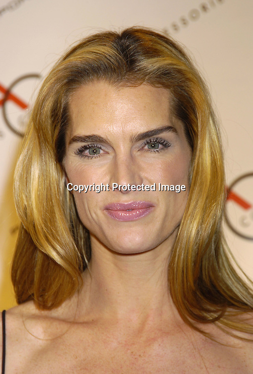 Brooke Shields..at The Accessories Council 8th Annual ACE Awards on ..November 1, 2004 at Cipriani 42nd Street. ..Photo by Robin Platzer, Twin Images