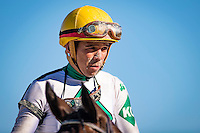 OLDSMAR, FLORIDA - FEBRUARY 11: Pablo Morales, at the Tampa Bay Downs on February 11, 2017 in Oldsmar, Florida (photo by Douglas DeFelice/Eclipse Sportswire/Getty Images)